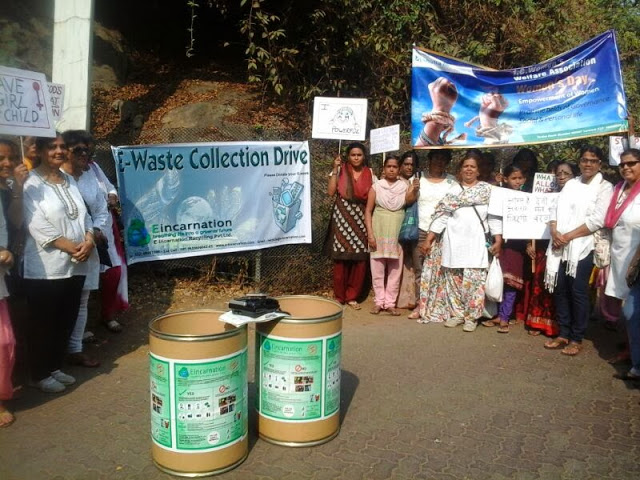 E waste collection drive