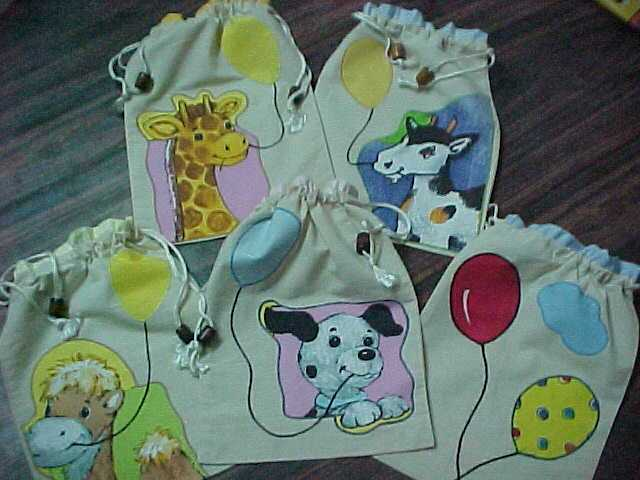 animal balloon shoebags