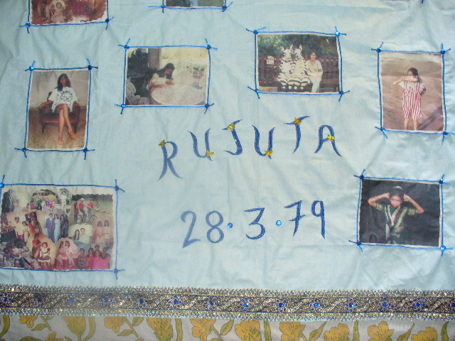 memory photo  wall scroll