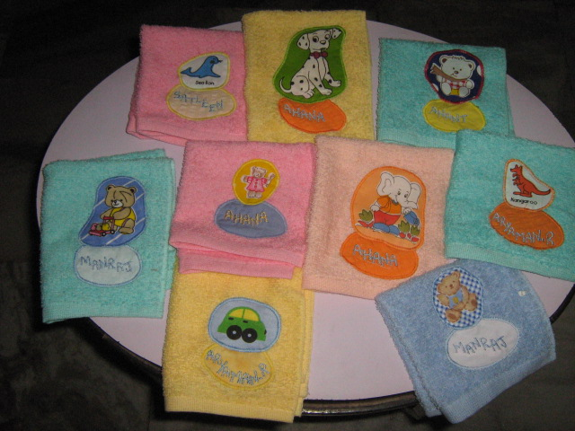 Undercoverkidsgifts home personalised napkins negle Images